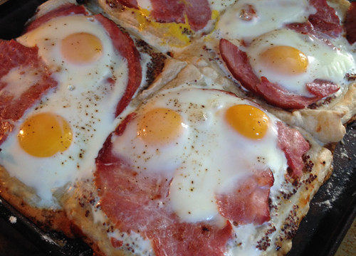 Ham & Egg Pastry