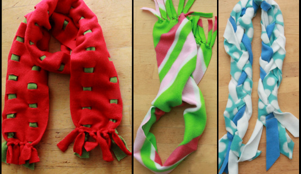 20-Minute Scarves 3 Ways
