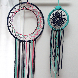 Kid Craft: Making Dream Catchers for eHow