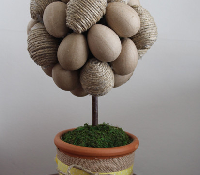 Making an Egg Tree Topiary