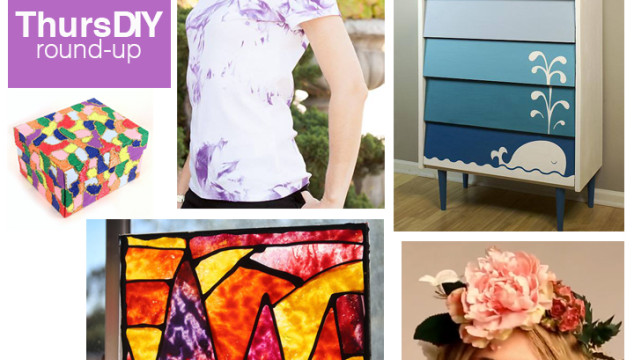 ThursDIY Round-Up (Including my NEW Melted Crayon project for eHow)