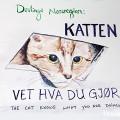 Duolingo-Norsk-Radmegan-Katten