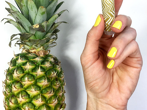 Pineapple Lip Balm DIY for CreativeLive