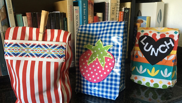 Easy-Sew Lunch Sacks