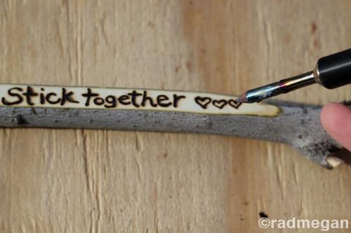 sticks stones a frugal outdoorsy valentine 39 s day craft radmegan. Black Bedroom Furniture Sets. Home Design Ideas