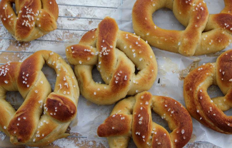 Homemade Soft Pretzels Part 1: Hold the Lye - Radmegan