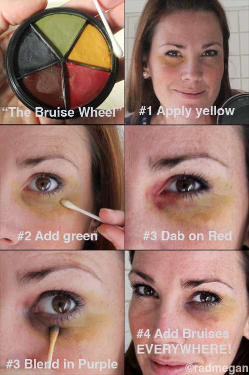 Easy Home Recipes: Fake Burns and Bruises for Halloween ...